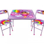Dora the Explorer Folding Chairs and Table Set