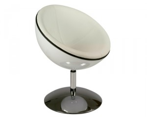 White Plastic Tub Chair